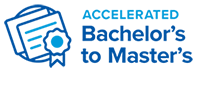 Accelerated Bachelor to Masters logo