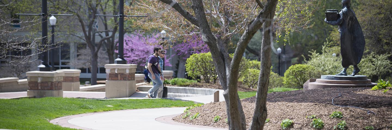 Creighton Campus Spring