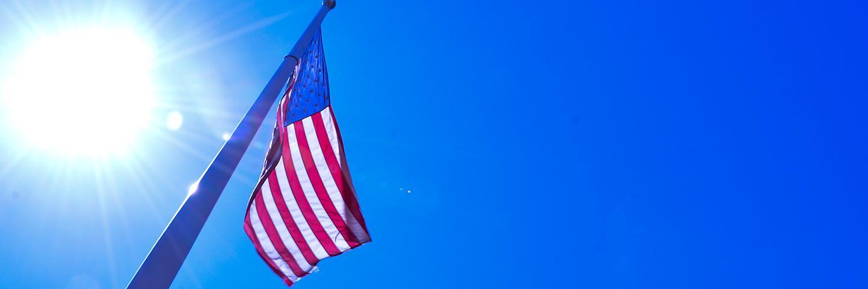 Military Science at Creighton - USA Flag